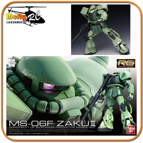 Gundam 1/144 RG #04 MS-06F Zaku II Model Kit