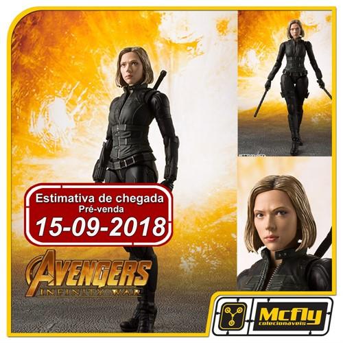 (RESERVA 10% DO VALOR) S.H Figuarts Black Widow Avengers Infinity War