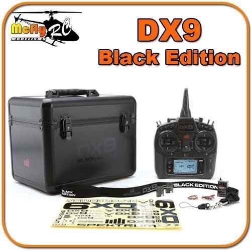Radio Spektrum Dx9 Black Edition + Maleta + Ar902 Dsm2 Dsmx