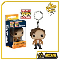 FUNKO POP Keychain: Doctor Who - Dr #11 Eleventh Doctor - Chaveiro
