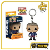 FUNKO POP Keychain: Doctor Who - Dr #12 Twelfth Chaveiro
