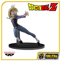 Dragon Ball Scultures 6 Android 18.