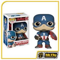 Avengers 2 Age Of Ultron - Capitão America - Vingadores Era de Ultron - Pop! Funko