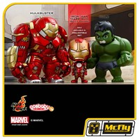 Hot Toys AVENGERS AGE OF ULTRON SERIES 1.5 COSBABYS HULK E HULKBUSTER