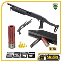 Airsoft Shotgun M870 Cm352 Spring  Metal Cyma Calibre 12 6mm