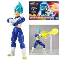 BANDAI DRAGON BALL FIGURE RISE VEGETA GOD BLUE SPECIAL COLOR