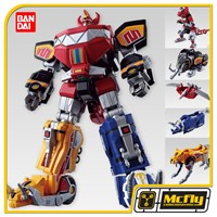 MEGAZORD FROM POWER RANGERS SHOKUGAN SUPER MINI Model Kit