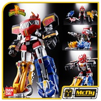 BANDAI Power rangers Mighty Morphin Megazord GX-72 Soul of Chogokin