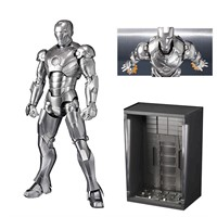 BANDAI S.H FIGUARTS IRON MAN MARK II & HALL OF ARMOR