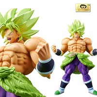 BANPRESTO SUPER BROLY FULLPOWER CHOUKOKUBUYUUDEN DRAGON BALL