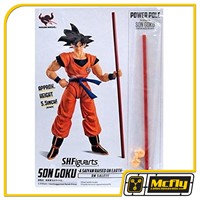 S.H. Figuarts Dragon Ball Z bastao Goku Power Pole SDCC 2018 Exclusive