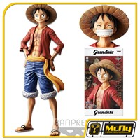 Banpresto One Pice Monkey D Luffy Grandista
