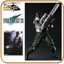 Final Fantasy VII Advent Children Barret Wallace Play Arts Kai