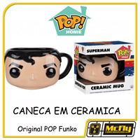 CANECA POP HOME MUG Super Man CERAMICA FUNKO