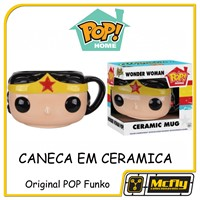 CANECA POP HOME MUG Wonder Woman CERAMICA FUNKO