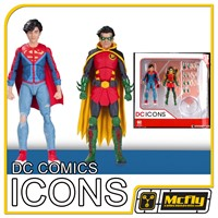 DC Icons Robin e Superboy SONS 2 Pack DC Collectibles