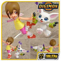 Digimon Hikari Yagami e Tailmon Digital Monsters 15Th