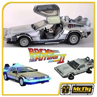 Delorean Time Machine 1/15 Th Scale Frozen Hover Back to the future II Diamond