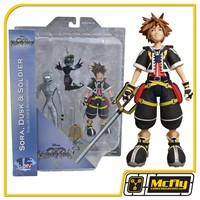 Diamond Select Kingdom Hearts Sora Dusk e Soldier