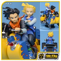 Dragon Ball Z Desktop Real Mccoy 04 Android 17 & 18 Megahouse