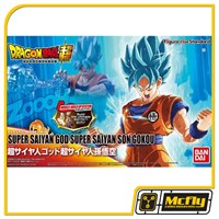 Dragon Ball Z Son Goku GOD Figure Rise Bandai Model Kit