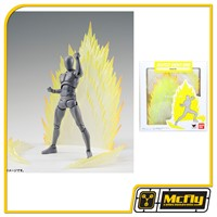 S.H Figuarts EFFECT ENERGY AURA YELLOW VER BANDAI