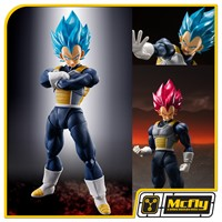 S H Figuarts Super Vegeta God Dragon Ball