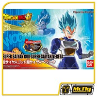Figure Rise Super Daiyan Vegeta God Dragon Ball Model Kit