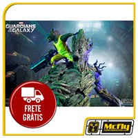 Guardians of the Galaxy: Rocket & Groot Prison Breakout Diorama 1/6 Iron Studios