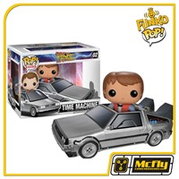 Funko POP 02 Time Machine Marty Mcfly