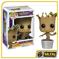Funko POP 65 Guardians of the Galaxy Dancing Groot Vinyl