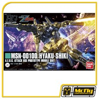 Gundam 1/144  #200 HG MSN 00100 Hyaku Shiki Revive Ver Model Kit