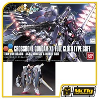 Gundam Build Fighters Try HGBF #035 Crossbone X-1 Full Cloth Ver. GBF 1/144
