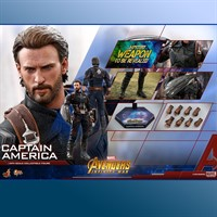 HOT TOYS Captain America Avengers Infinity War MMS480 1/6