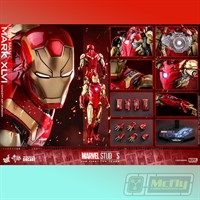 HOT TOYS IRON MAN MARK XLVI MMS489D25 CONCEPT ART VERSION THE FIRST TEN YEARS
