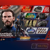Hot Toys Avengers Infinity War Captain America MMS841 ExclusIve