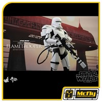 Hot Toys Star Wars THE FORCE AWAKENS FIRST ORDER FLAMETROOPER MMS326