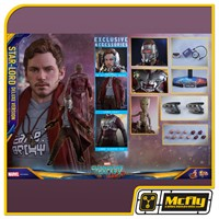 (RESERVA 10% DO VALOR) Hot Toys Guardians of the Galaxy Vol 2 Star Lord DELUXE VERSION MMS421