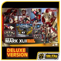 Hot Toys Iron Man MARK XLII 42 1/4  DELUXE VERSION QS008