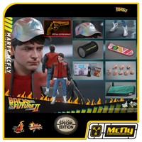 Hot Toys Marty Mcfly MMS379 BACK TO THE FUTURE PART II EXCLUSIVE