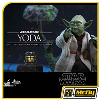 Hot Toys Mestre Yoda MMS369 STAR WARS EPISODE V THE EMPIRE STRIKES BACK