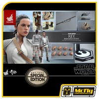 Hot Toys Rey RESISTANCE OUTFIT MMS377 Exclusiva Star Wars