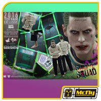 Hot Toys Suicide Squad THE JOKER ARKHAM ASYLUM VERSION MMS373 Toy Fair 2016 Exclusive