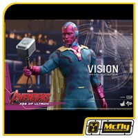 Hot Toys Vision AVENGERS AGE OF ULTRON mms296 Visao