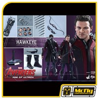 Hot toys AVENGERS AGE OF ULTRON HAWKEYE Arqueiro MMS289