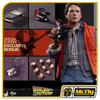 Hot toys BACK TO THE FUTURE MARTY MCFLY MMS257 EXCLUSIVE