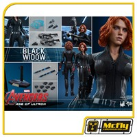 Hot toys AVENGERS: AGE OF ULTRON BLACK WIDOW MMS288
