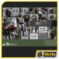 Hot Toys Boba Fett 1/4 SCALE STAR WARS: EPISODE VI RETURN OF THE JEDI