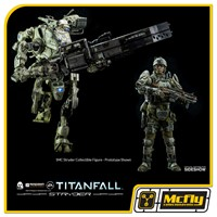 Titan Fall IMC Stryder Collectible Figure by Threezero 1/12 58 cm