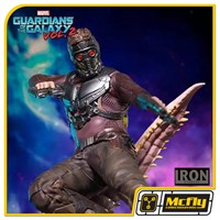Iron Studios STAR LORD GUARDIANS OF THE GALAXY VOL 2 1/10